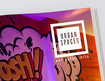 urban spaces hotel advert